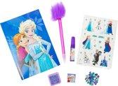 Disney Dagboek Frozen Met Versiering 18 X 12 Cm