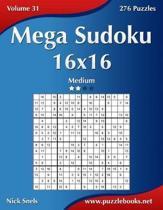 Mega Sudoku 16x16 - Medium - Volume 31 - 276 Puzzles