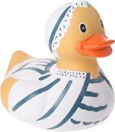 Eddy Toys Badeend Zwemmer Wit 25 Cm