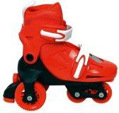 Tri-Quad Rolschaats Verstelbaar Rood 31/34 - Skates voor Jongens