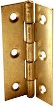 4 Scharnieren | Deur Scharnier | Met Rechte Hoeken | Gegalvaniseerd | Kogellager |Hinge |64 x 34mm