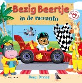 Boek cover Bezig Beertje - Bezig Beertje in de raceauto van Benji Davies