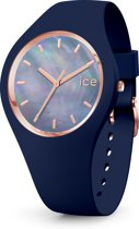 Ice-Watch Pearl IW017127 horloge - Siliconen - Blauw - Ø 40 mm