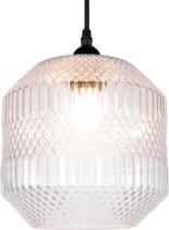 Clayre & Eef Hanglamp glas Ø 20x25 cm / E27 / Max. 1x 40 Watt