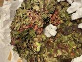 Viv! Home Luxuries Hortensia krans - zijde - rood - herfst - 46cm - topkwaliteit