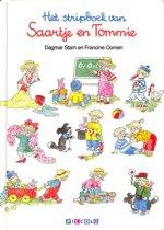 Het stripboek van Saartje en Tommie.