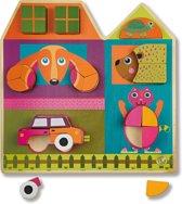 Build a House! City - Houten speel&leer puzzel