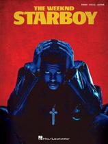 THE WEEKND STARBOY PIANO VOCAL GUITAR BOOK