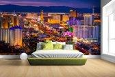 Las Vegas by night Fotobehang 380x265