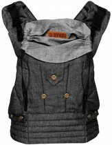 ByKay - Babydrager - 4 Way click carrier - Black denim - one size