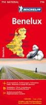 Michelin Nationalkarte Benelux 1 : 400 000