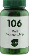 AOV 106 Multi Zwangerschap  60 vegicaps - Vitaminen