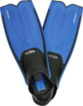 Tunturi Flipper - Zwemvliezen - Zwemvinnen - Zwemflippers - 38-39 - Zwart/Blauw