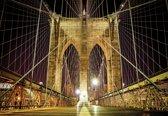 Fotobehang Brooklyn Bridge New York | XXXL - 416cm x 254cm | 130g/m2 Vlies