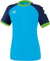 Erima Zenari 3.0 Dames Shirt - Voetbalshirts  - blauw licht - 36