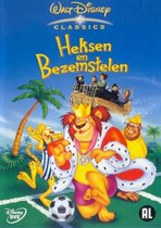 Heksen En Bezemstelen (dvd)
