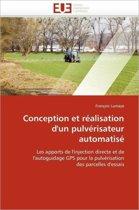 Conception Et R�alisation d''un Pulv�risateur Automatis�