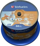 DVD-R/4.7GB 16xspd 50Spindle print
