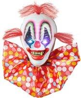 Lichtgevende enge clown decoratie - Feestdecoratievoorwerp