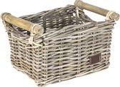 FastRider Bamboo Junior Fietsmand - Rotan - 8 Liter - Naturel