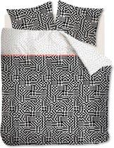 Beddinghouse Kumiko - Dekbedovertrek - Lits-jumeaux - 240x200/220 cm - Zwart