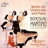 Anatoli / Krassimir Taskov Krastev - Martinu; Works For Cello And Piano