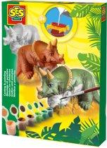 SES Gips gieten Triceratops