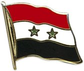 Pin vlag Syrie