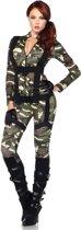 Sexy militairen kostuum voor vrouwen - Verkleedkleding