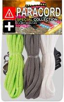 Paracord Set - Special Collection (Lime / Grijs / Wit)