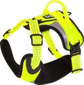 Hurtta Padded Dazzle harness Hond Fluor geel 100-120 cm