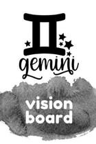 Gemini Vision Board: Visualization Journal and Planner Undated