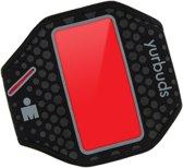 Yurbuds iPhone 5s / 5 Ergosport Armband - Zwart / Rood