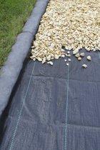 Anti-onkruid worteldoek gronddoek  zwart 1,65 x 100 m 100 g/m²