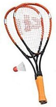 Donnay Badmintonset Fast Aluminium Oranje Per Set
