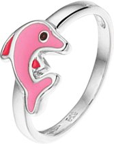 The Kids Jewelry Collection Ring Dolfijn - Zilver
