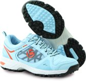 Brabo Brabo Tribute shoe Light Blue/Orange Hockeyschoenen Unisex - Orange