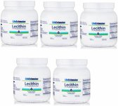 Lecithin (97% Phosphatides De-oiled), 454 Grams, 5-pack