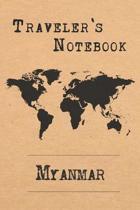Traveler's Notebook Myanmar