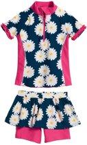 Playshoes UV zwemsetje Kinderen Margriet - Blauw - Maat 98/104