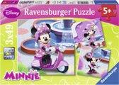 Minnie in het park
