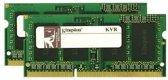KVR13S9S6/2 2GB 1333MHz DDR3 Non-ECC CL9 SODIMM SR X16
