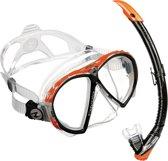 Aqua Lung Sport Favola + Zephyr - Snorkelset - Orange