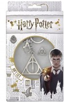 Harry Potter - Gift Set - Deathly Hallow Keyring & Pin Badge