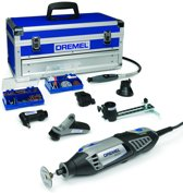 Dremel 4000 Multitool - Roterend - 175 W - Incl. toolbox met 128 accessoires.