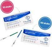 Ovulatietest 50 stuks extra gevoelig -10 stuks Zwangerschapstesten extra vroeg - Voordeelpakket