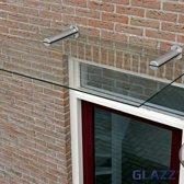 Glazen deurluifel 120x80cm