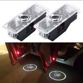 2 STKS LED Autodeur Welkom Logo Car Brand 3D Shadow Light voor BMW
