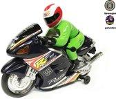 Speelgoed race motor met geluid en lichtjes  Motorcycle Racer (inclusief batterijen) 28CM