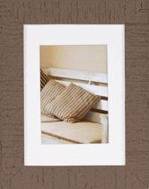 Henzo Driftwood Fotolijst - Fotomaat 13x18 cm -  Bruin